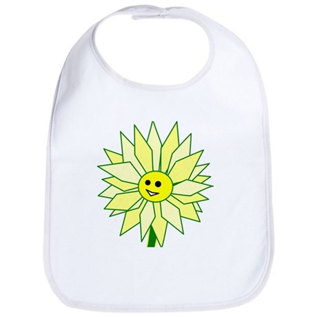 Happy Flower Bib