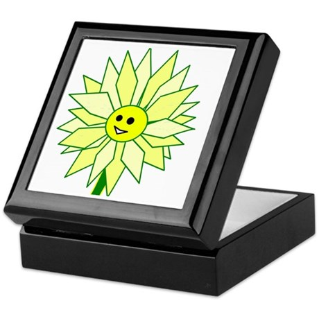 Happy Flower Keepsake Box