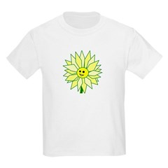 Happy Flower t-shirt Kids Light T-Shirt