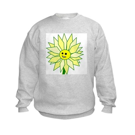 Happy Flower t-shirt Kids Sweatshirt