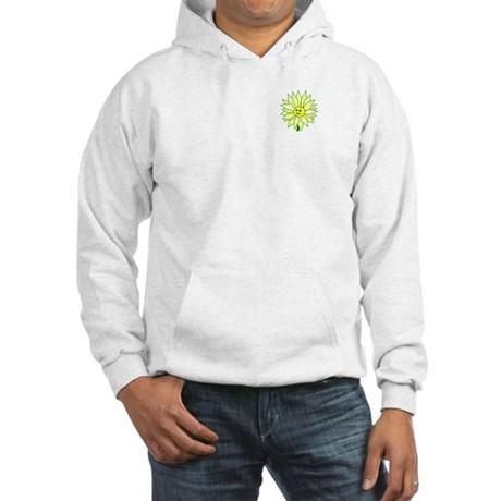 Happy Flower t-shirt Hooded Sweatshirt