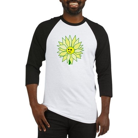 Happy Flower t-shirt Baseball Jersey