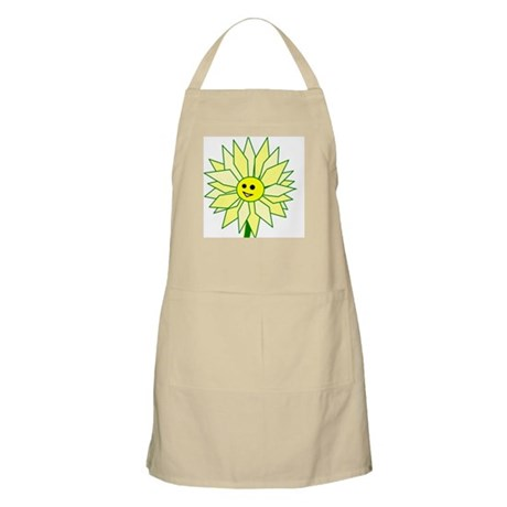 Happy Flower BBQ Apron
