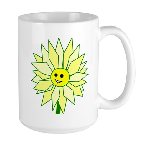 Happy Flower Large Mug