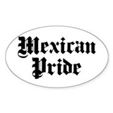 Mexican Pride Oval Decal