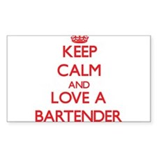 Keep Calm and Love a Bartender Decal