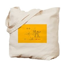 Pioneer Plaque Pluto Fix V3 Tote Bag