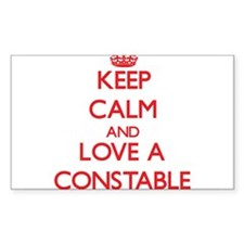 Keep Calm and Love a Constable Decal