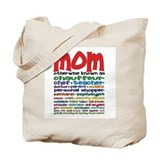 Many Roles of Mom Tote Bag
