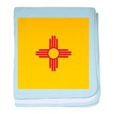 Flag of New Mexico baby blanket