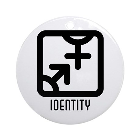 Identity : Both Ornament (Round)