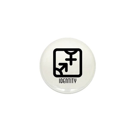 Identity : Both Mini Button (10 pack)