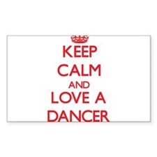 Keep Calm and Love a Dancer Decal
