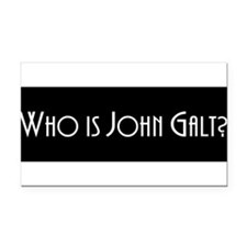 Cute John galt Rectangle Car Magnet