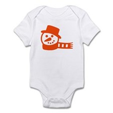 snowman Infant Bodysuit