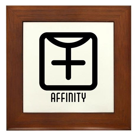 Affinity : Female Framed Tile