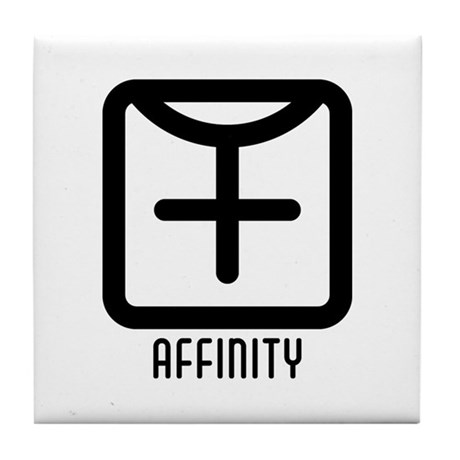 Affinity : Female Tile Coaster