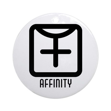 Affinity : Female Ornament (Round)