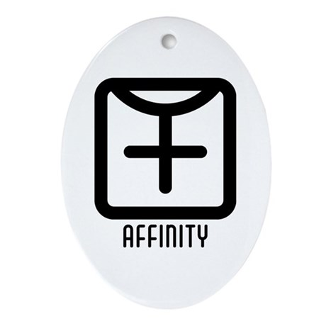 Affinity : Female Oval Ornament