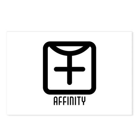 Affinity : Female Postcards (Package of 8)