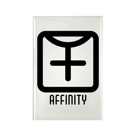 Affinity : Female Rectangle Magnet (100 pack)