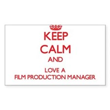 Keep Calm and Love a Film Production Manager Stick