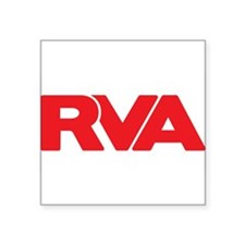Red RVA Sticker