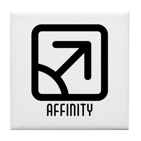 Affinity : Male Tile Coaster