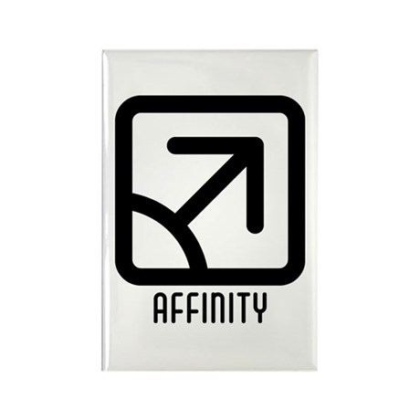 Affinity : Male Rectangle Magnet