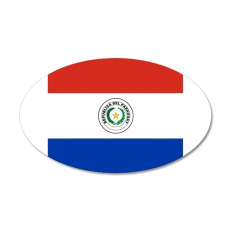 Flag of Paraguay Wall Sticker
