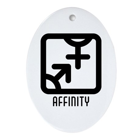 Affinity : Both Oval Ornament
