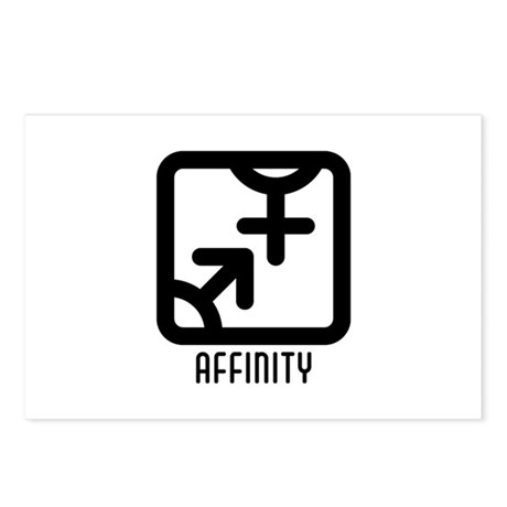 Affinity : Both Postcards (Package of 8)