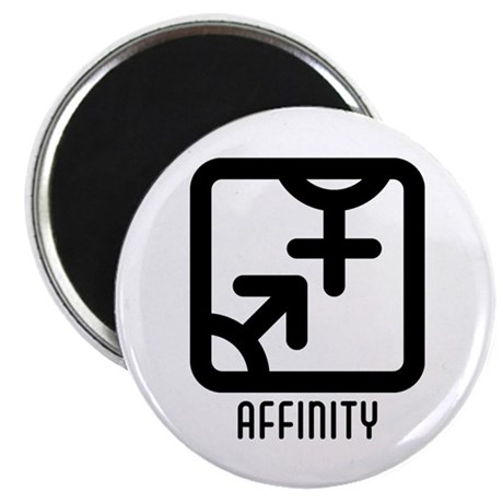 "Affinity : Both 2.25"" Magnet (100 pack)"