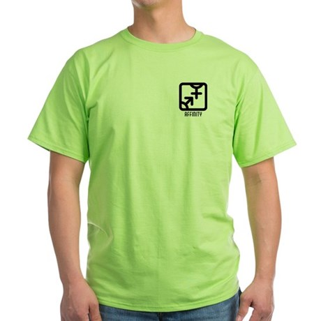Affinity : Both Green T-Shirt