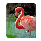 Flamingo Neck Mousepad