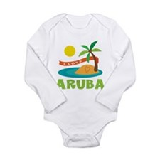I Love Aruba Body Suit
