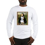 Mona's Bull Terrier Long Sleeve T-Shirt