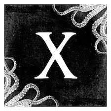 Gothic Tentacle MONOGRAM Invitations