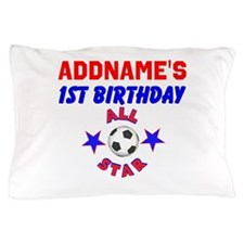 1 YR OLD SOCCER Pillow Case
