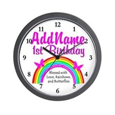 BLESSED 1 YR OLD Wall Clock