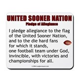 Sooner Nation Pledge Mousepad