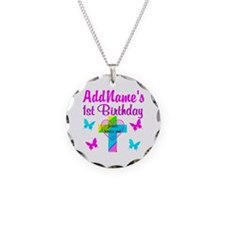 CHRISTIAN 1 YR OLD Necklace Circle Charm