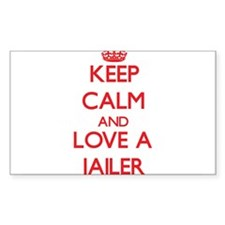 Keep Calm and Love a Jailer Decal