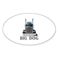 Big Dog Oval Decal
