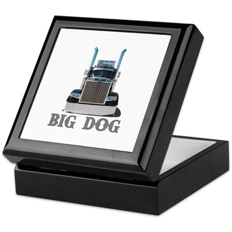 Big Dog Keepsake Box