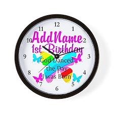 PRECIOUS 1 YR OLD Wall Clock