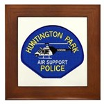 Huntington Park Air Support Framed Tile