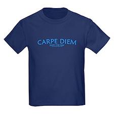 Carpe Diem - Kids Navy T-Shirt