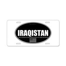 Iraqistan - Been There, Aluminum License Plate