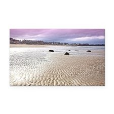 North Berwick beach  Rectangle Car Magnet